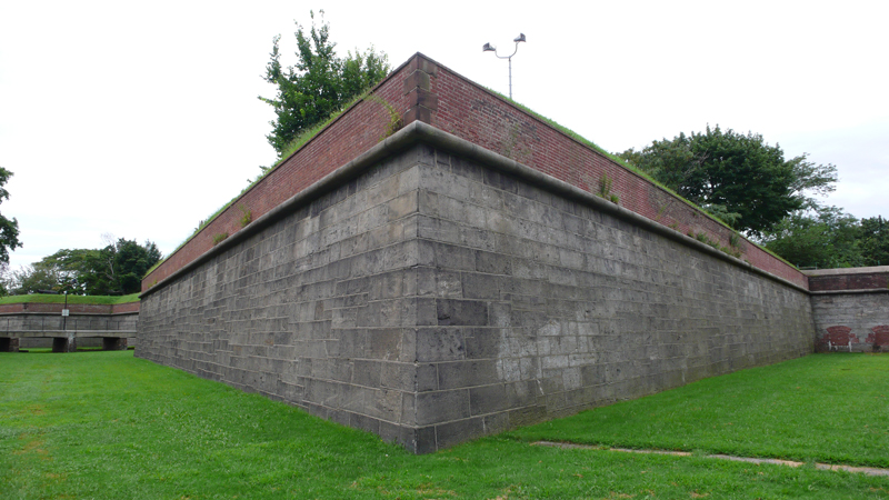 Governors Island: Fort Jay