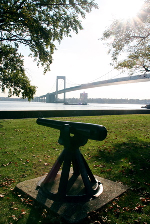 Fort Schuyler Canon and Bridge, Bronx, New York